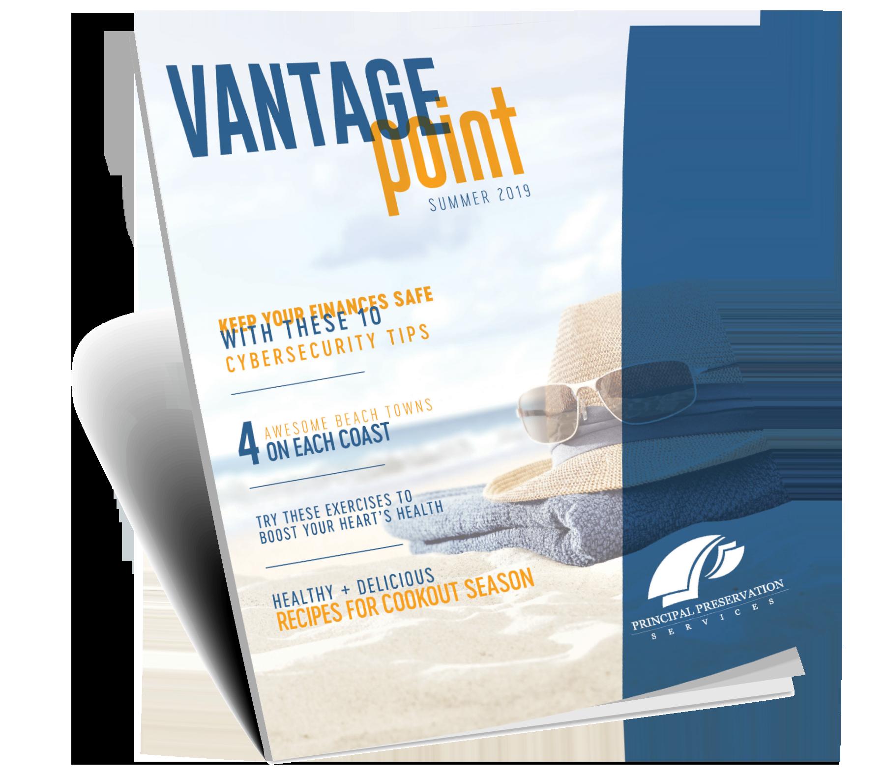 Summer 2019 Newsletter – Vantage Point – Principal